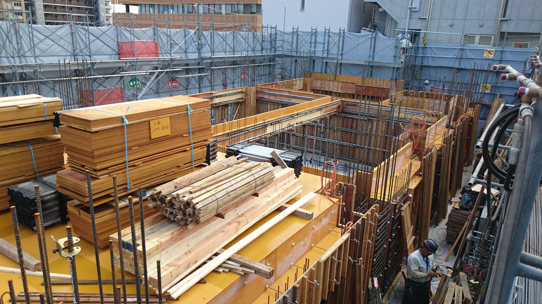 Công ty Xuất khẩu Lao động uy tín IVY HR đang tuyển 2~3 nam mộc xây dựng – mộc cốp pha đi Nhật